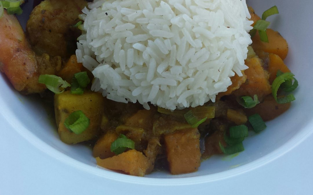 Comfort Food: Pumpkin Shrimp Curry