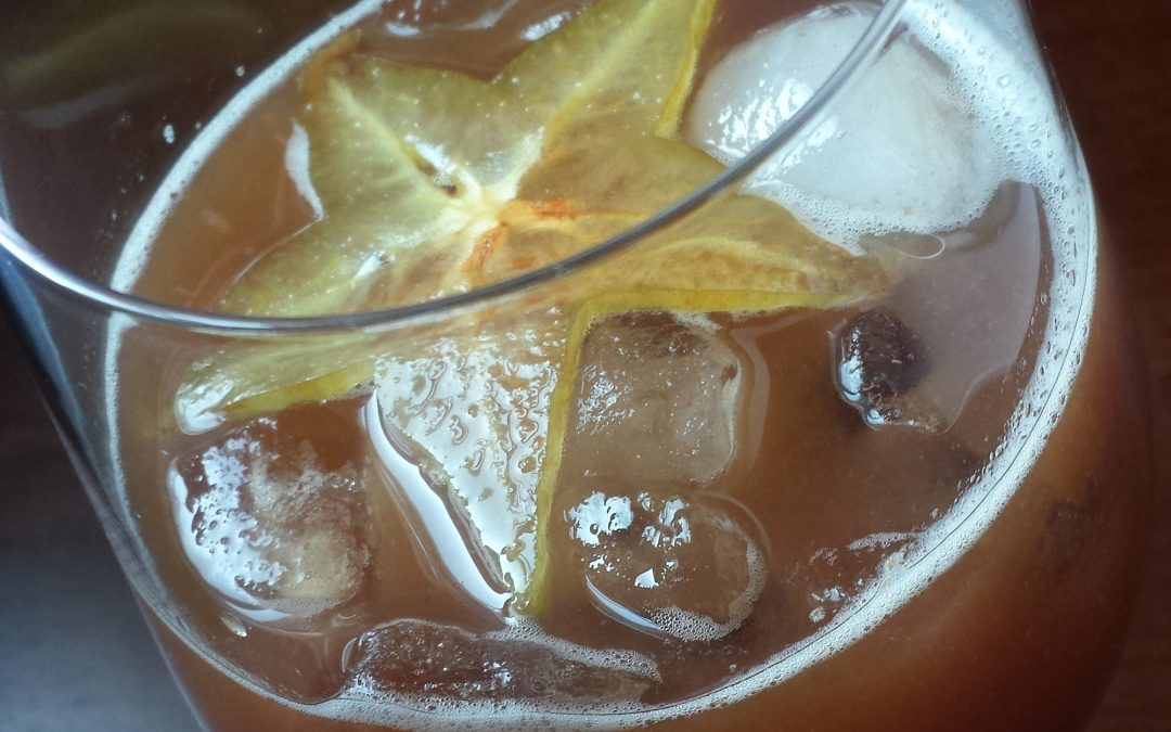 Guava Iced Tea
