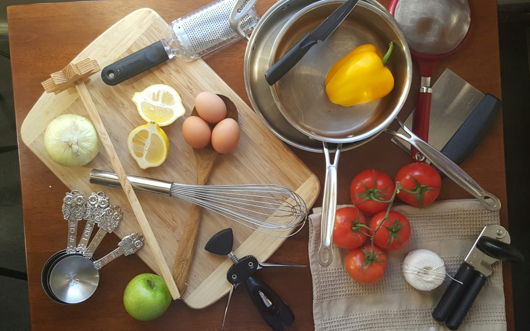 Back to Basics: Cooking Terms & Kitchen Essentials
