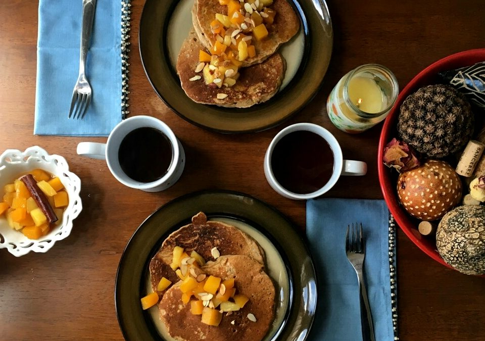 Sweet Plantain Pancakes